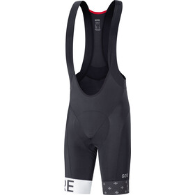 GORE WEAR C5 Bib Shorts+ Men Limited Edition Black/White